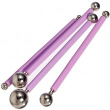 4 Piece Stainless Steel Moulding Modelling Ball Tools