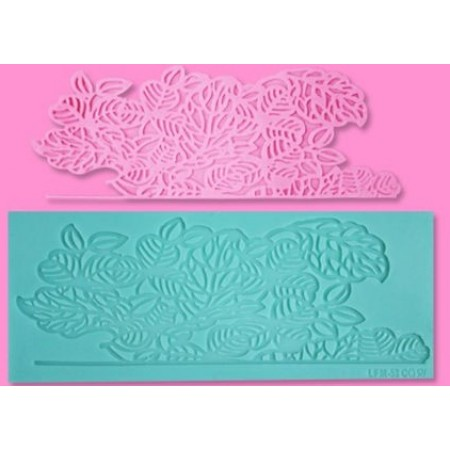 Floral Border style Lace Confectioners Mat