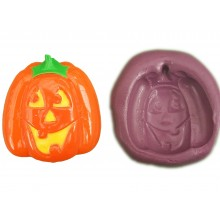 Jack O Lantern Cake Decoration Silicone Mould