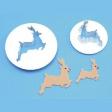 Reindeer Cutter Set of 2