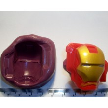 Iron Man Cake Decoration Silicone Mould