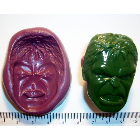 Incredible Hulk Cake Decoration Silicone Mould