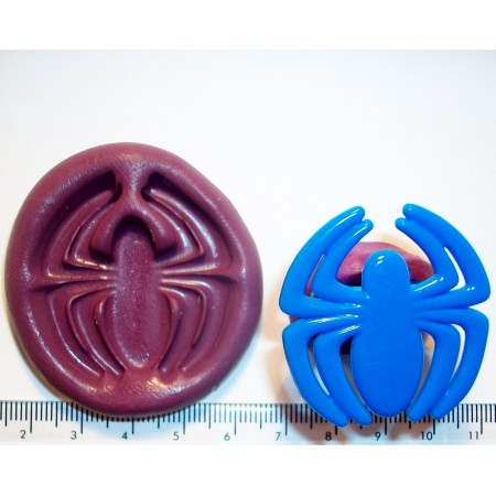 Spiderman Sign Cake Decoration Silicone Mould