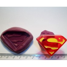 Superman Cake Decoration Silicone Mould