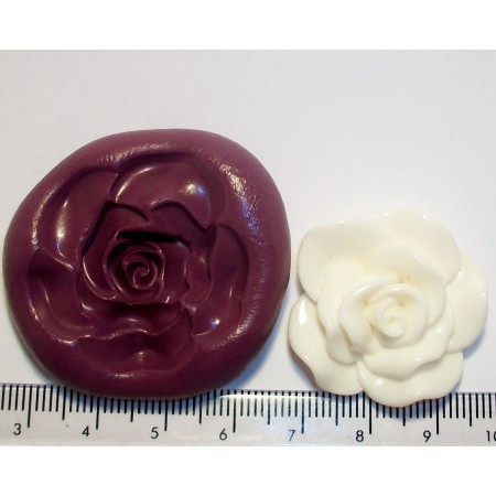 Medium Rose Cake Decoration Silicone Mould