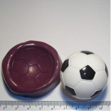 Football Cake Decoration Silicone Mould
