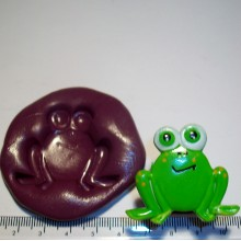 Frog Face Cake Decoration Silicone Mould