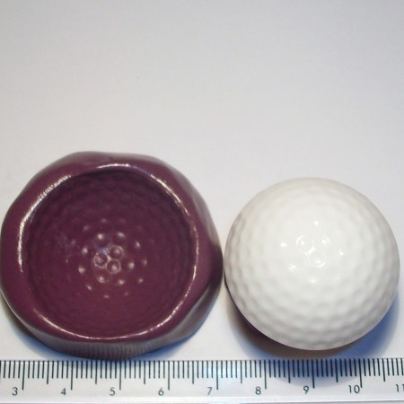 Golf Ball Cake Decoration Silicone Mould