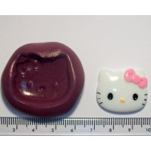 Small Hello Kitty Large Silicone Mould