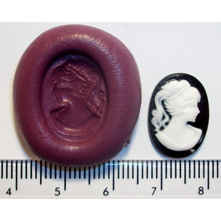 Mini Cameo Cake Decoration Silicone Mould