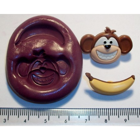 Monkey Silicone Mould
