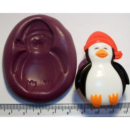 Penguin Silicone Mould