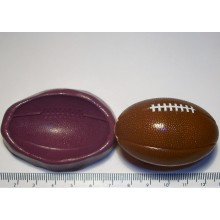 Rugby Ball Cake Decoration Silicone Mould