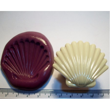 Shell Cake Decoration Silicone Mould