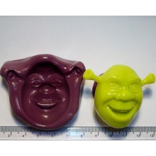 Shrek Cake Decoration Silicone Mould