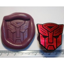 Transformer Red Cake Decoration Silicone Mould