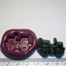 Army Truck Cake Decoration Silicone Mould