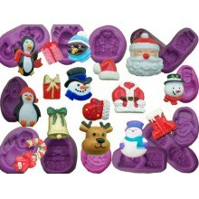 Christmas Silicone Moulds Collection