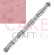 Steel effect Texture Embossing Acrylic Rolling Pin