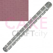 Brick effect Texture Embossing Acrylic Rolling Pin
