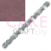 Daisy effect Texture Embossing Acrylic Rolling Pin