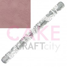 Flower Bush effect Texture Embossing Acrylic Rolling Pin