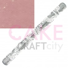 Flower Vine effect Texture Embossing Acrylic Rolling Pin