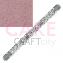 Flowers effect Texture Embossing Acrylic Rolling Pin