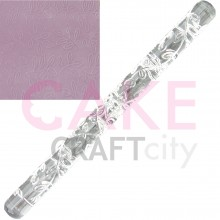 Leaf Branch effect Texture Embossing Acrylic Rolling Pin