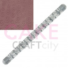 Swirls effect Texture Embossing Acrylic Rolling Pin