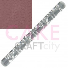 Pair line Waves effect Texture Embossing Acrylic Rolling Pin
